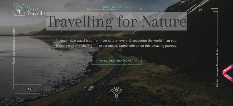 Travelling for Nature